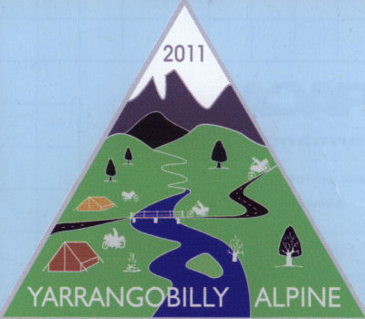 2011 Alpine Rally Sticker