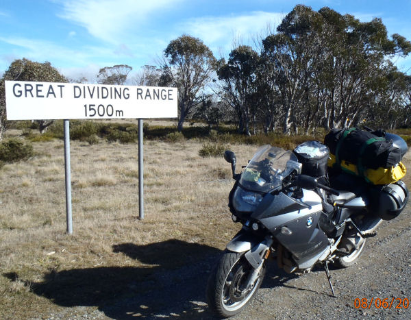 Crossing the Great Dividing Range