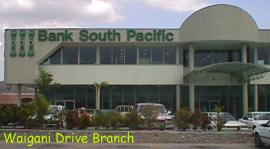 Bank of Sth Pacific (8K)