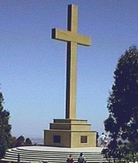 Mt Macedon Memorial Cross (11K)