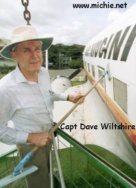The culprit - Captain Dave Wiltshire